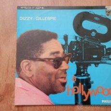 Discos de vinilo: DIZZY GILLESPIE À HOLLYWOOD - DIZZY GILLESPIE. Lote 36332901
