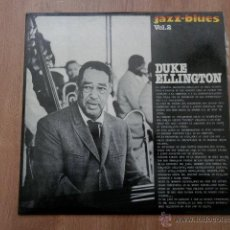 Discos de vinilo: DUKE ELLINGTON. JAZZ-BLUES. VOL. 2 - DUKE ELLINGTON. Lote 36333567