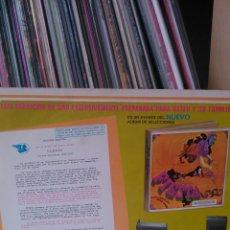 Discos de vinilo: PROMO ALBUM FIESTA - SELECCIONES. Lote 40554893