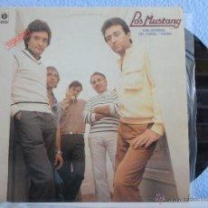 Discos de vinilo: LOS MUSTANG - LOS JOVENES (LP) // 1982 // RARO!! // DISCOSA MOVIEPLAY. Lote 40563976