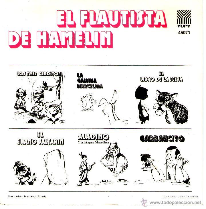 Discos de vinilo: EL FLAUTISTA DE HAMELIN - Foto 2 - 40564263