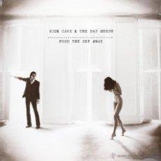Discos de vinilo: LP NICK CAVE & THE BAD SEEDS PUSH THE SKY AWAY VINILO + MP3 DOWNLOAD. Lote 198183616
