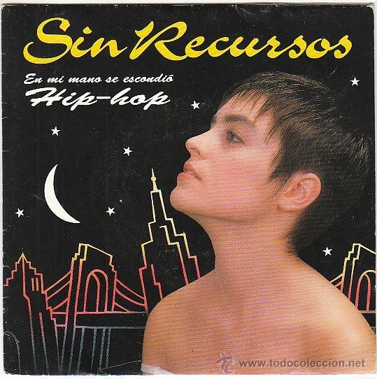 SIN RECURSOS - EN MI MANO SE ESCONDIÓ (HIP-HOP), EMI 1992, PROMOCIONAL (Música - Discos de Vinilo - Maxi Singles - Rap / Hip Hop)