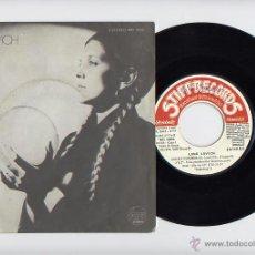 Discos de vinilo: LENE LOVICH SINGLE 45 LUCKY NUMBER STIFF 1977. Lote 40584403