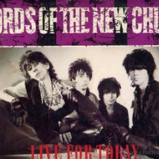 Discos de vinilo: THE LORDS OF THE NEW CHURCH MAXI EP EE.UU. LIVE FOR TODAY IRS 1983. Lote 40585565