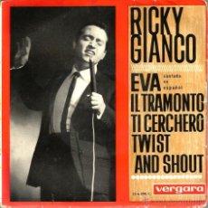 Discos de vinilo: EP RICKY GIANCO CANTA EN ESPAÑOL: EVA . Lote 40590033