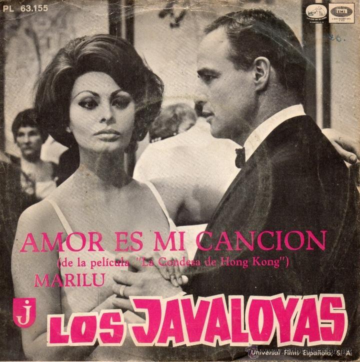 JAVALOYAS, SG, AMOR ES MI CANCION + 1, AÑO 1967 (Música - Discos - Singles Vinilo - Grupos Españoles 50 y 60)