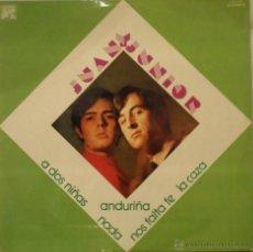 Discos de vinilo: JUAN Y JUNIOR 12' LP ''JUAN Y JUNIOR''. Lote 45732487