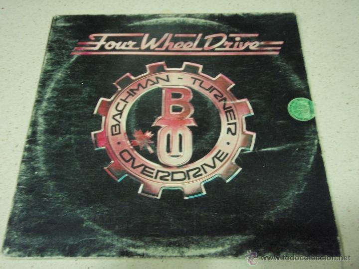Discos de vinilo: BACHMAN TURNER OVERDRIVE ( FOUR WHEEL DRIVE ) USA - 1975 LP33 MERCURY - Foto 2 - 40599472