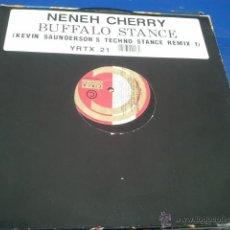 Discos de vinilo: NENEH CHERRY BUFFALO STANCE KEVIN SAUNDERSON´S TECHNO STANCE REMIX. Lote 40602938