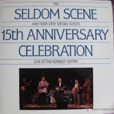 Discos de vinilo: LP - SELDOM SCENE - 15TH ANNIVERSARY CELEBRATION, LIVE AT THE KENNEDY CENTER (DOBLE DISCO). Lote 40620142