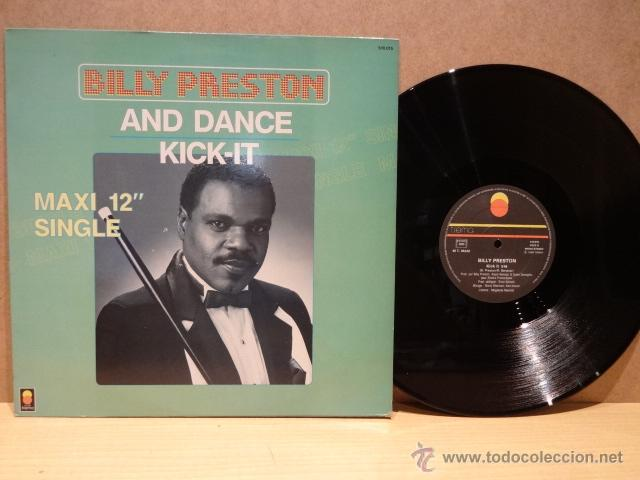 BILLY PRESTON. AND DANCE. MAXI SINGLE - TREMA - 1984. CALIDAD LUJO. ****/**** (Música - Discos - LP Vinilo - Funk, Soul y Black Music)