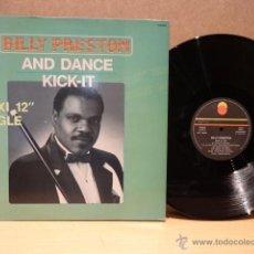 Discos de vinilo: BILLY PRESTON. AND DANCE. MAXI SINGLE - TREMA - 1984. CALIDAD LUJO. ****/****. Lote 40622976