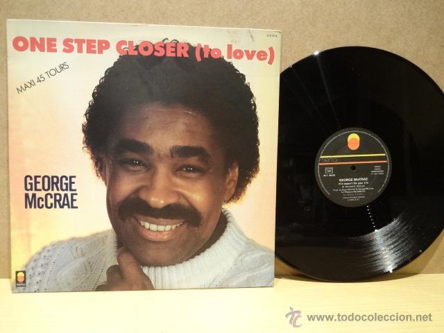 GEORGE MC CRAE. ONE STEP CLOSER ( TO LOVE ). MAXI SINGLE - TREMA - 1984. BUENA CALIDAD. ***/*** (Música - Discos de Vinilo - Maxi Singles - Funk, Soul y Black Music)