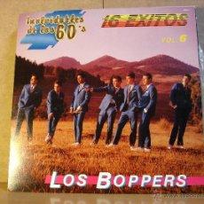 Discos de vinilo: LOS BOPPERS - 16 EXITOS. INOLVIDABLES DE LOS 60S VOL. 6 - PEERLESS-ECO 16065-8 - 1987. Lote 40624506