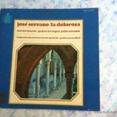 Discos de vinilo: LP JOSÉ SERRANO-LA DOLOROSA. Lote 40630970