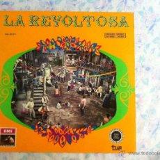 Discos de vinilo: LP LA REVOLTOSA-CON LIBRETO. Lote 40631080