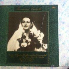 Discos de vinilo: LP MONTSERRAT CABALLE-RIGOLETTO. Lote 40631403