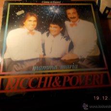 Discos de vinilo: RICCHI&POVERI. Lote 40631467