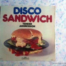 Discos de vinilo: LP DISCO SANDWICH-TENDER AGGRESSION. Lote 40631482