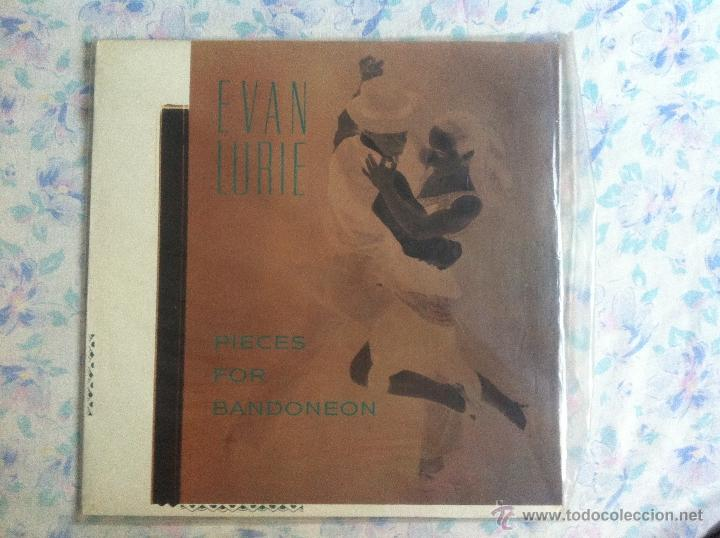 LP EVAN LURIE-PIECES FOR BANDONEON (Música - Discos - LP Vinilo - Country y Folk)
