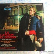 Discos de vinilo: LP LA CANCION DEL OLVIDO. Lote 40631758