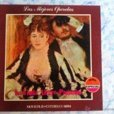 Discos de vinilo: LP LAS MEJORES OPERETAS-LA VIUDA ALEGRE. Lote 40631842