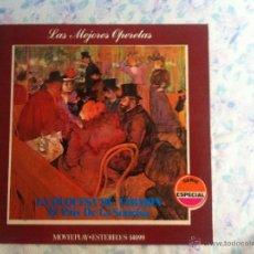 Discos de vinilo: LP LAS MEJORES OPERETAS-LA DUQUESA DE TABARIN. Lote 40631869