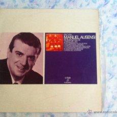 Discos de vinilo: LP MANUEL AUSENSI-ROMANZAS DE ZARZUELAS. Lote 40631924