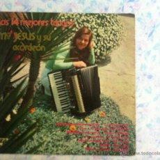 Discos de vinilo: LP MARIA JESUS Y SU ACORDEON-LOS 14 MEJORES TANGOS. Lote 40631976