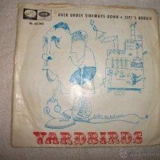 Discos de vinilo: YARDBIRDS / OVER UNDER SIDEWAYS DOWN / LA VOZ DE SU AMO 1966. Lote 40633690