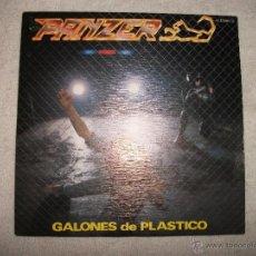 Discos de vinilo: PANZER / GALONES DE PLASTICO / SERDISCO 1983. Lote 40635084