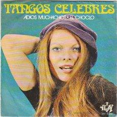 Discos de vinilo: TANGOS ELEBRES, ADIOS MUCHACHOS, EL CHOCLO, YUPI DEL AÑO 1971. Lote 40635775