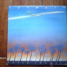 Discos de vinilo: AZYMUTH - RAPID TRANSIT . Lote 40639035