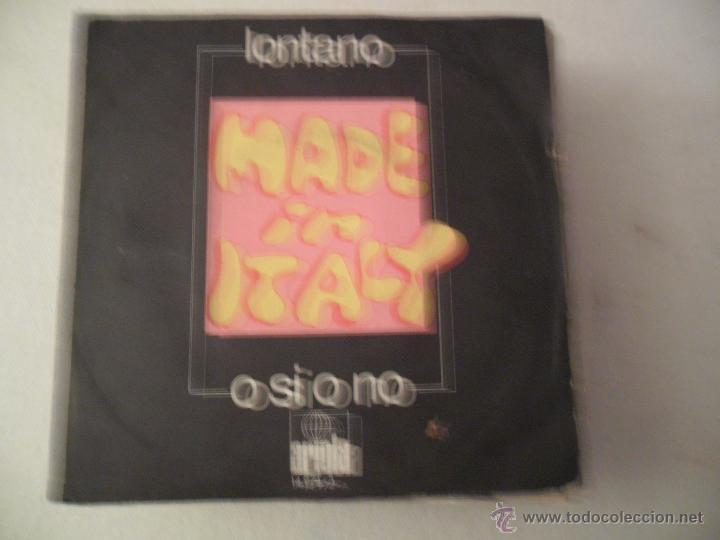 MADE IN ITALY - LONTANO/O SI O NO 1971 MADE IN ITALY (Música - Discos - Singles Vinilo - Canción Francesa e Italiana)