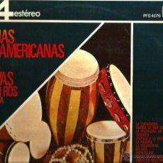 Disques de vinyle: LP EDMIUNDO ROS : MELODIAS LATINOAMERIANAS ( TEMAS DE JOBIM , DE MORAES, PADILLA, MARQUINA, ETC . Lote 40645523