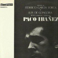 Discos de vinilo: PACO IBAÑEZ LP SELLO POLYDOR AÑO 1967. Lote 40651945