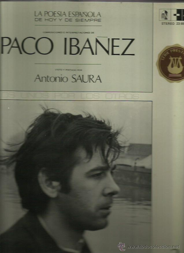 PACO IBAÑEZ LP SELLO POLYDOR AÑO 1970 (Música - Discos - LP Vinilo - Solistas Españoles de los 50 y 60)