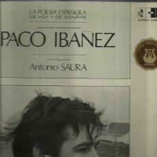 Discos de vinilo: PACO IBAÑEZ LP SELLO POLYDOR AÑO 1970. Lote 40651980