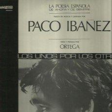 Discos de vinilo: PACO IBAÑEZ LP SELLO POLYDOR AÑO 1972. Lote 40652016