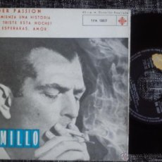 Discos de vinilo: CAMILLO FELGEN. TENDER PASSION. EP TELEFUNKEN TFK 13027. ESPAÑA 1962. ARE YOU LONESOME TO-NIGHT?. Lote 40658098
