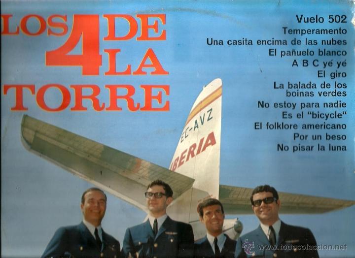 LP LOS 4 DE LA TORRE ( EDITADO EN 1966) (Música - Discos - LP Vinilo - Grupos Españoles 50 y 60)