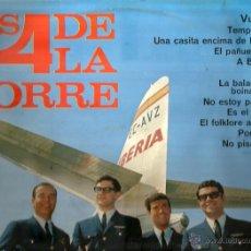 Discos de vinilo: LP LOS 4 DE LA TORRE ( EDITADO EN 1966). Lote 40658524