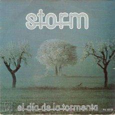 Discos de vinilo: STORM - EL DIA DE LA TORMENTA + 1 (45 RPM) ALBA 1979. VG++/VG++. Lote 40659419