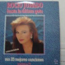 Discos de vinilo: ROCIO JURADO HASTA LA ULTIMA GOTA 2LP. Lote 40659792
