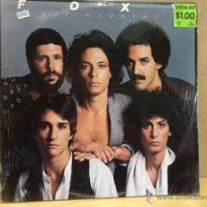 Discos de vinilo: FOXY. HOT NUMBER. LP - DASH - 1979 - USA. PRECINTADO. DIFÍCIL. *****. Lote 40661921