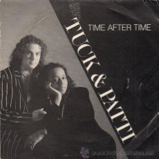 Discos de vinilo: TUCK & PATTI (TIME AFTER TIME). Lote 40663030