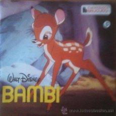 Discos de vinilo: CUENTODISCO . WALT DISNEY . BAMBI E.P. 1967 BRUGUERA CUENTO Y DISCO. Lote 40665818