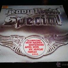 Discos de vinilo: HEAVY METAL SPECIAL. Lote 40669409