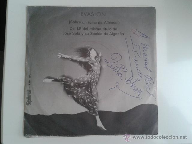 JOSE SOLÁ - LA NOCHE DE LOS CIEN PÁJAROS / EVASIÓN 1972 SPIRAL CINEMATIC LIBRARY KILLER DABADA RARO! (Música - Discos - Singles Vinilo - Bandas Sonoras y Actores)